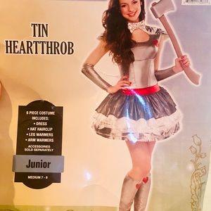 Tin Girl Costume Junior